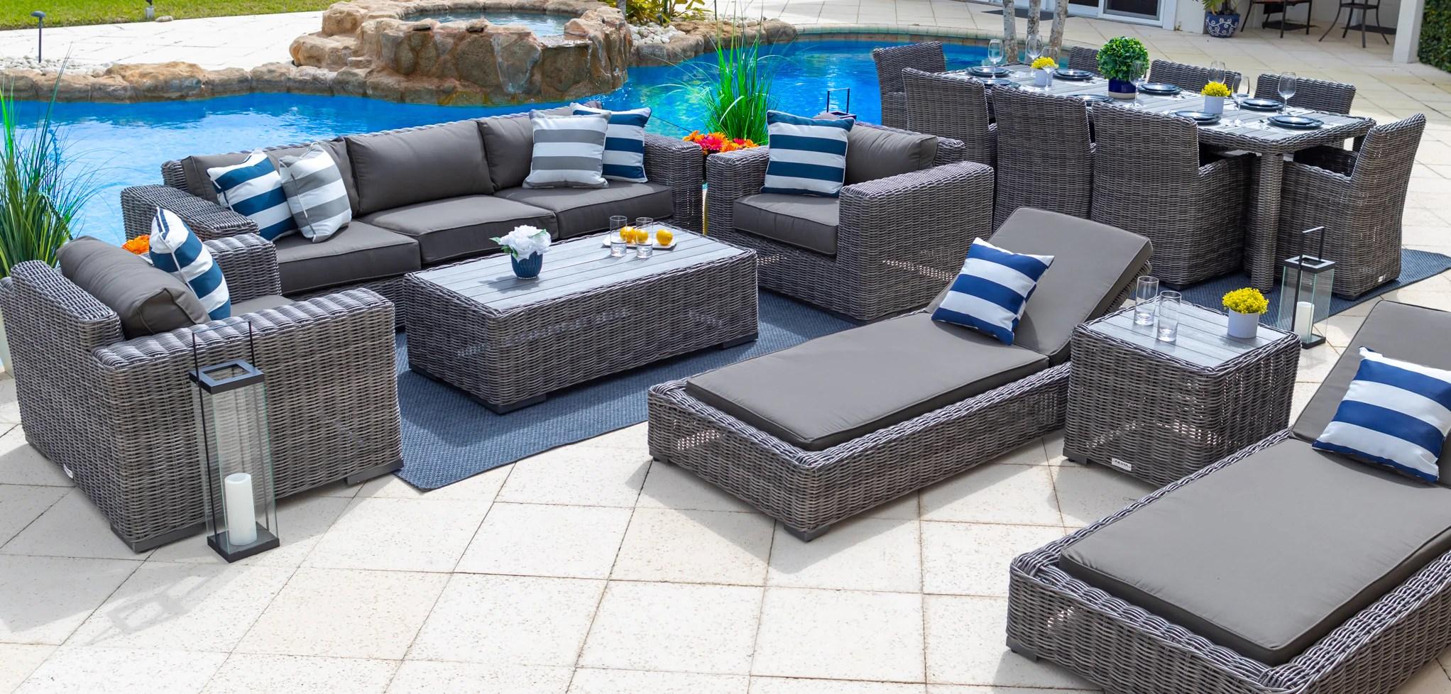 sunbrella outdoor patio furniture sets