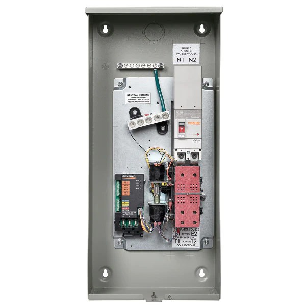 generac rxsw200a3 200 amp service rated automatic transfer