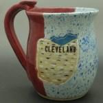 Cleveland Hand Thrown Ceramic Mug Celebrate Local Shop The Best Of Ohio