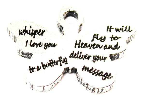 Download Whisper I Love You To A Butterfly Genuine American Pewter ...