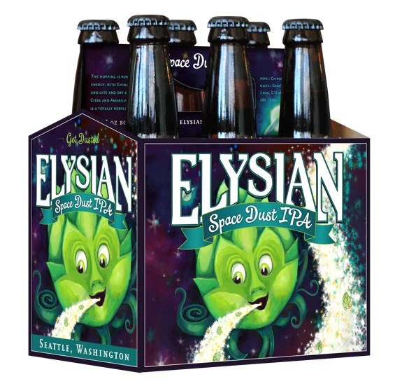 Elysian Space Dust Ipa 6pk White Horse Wine And Spirits