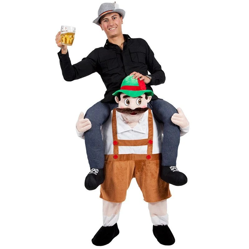 Scottish Dancer Carry Me Ride On Stag Mascot Costume     Hobbies Discount Apparel   Bavarian Oktoberfest Carry Me Ride On Stag Mascot Costume