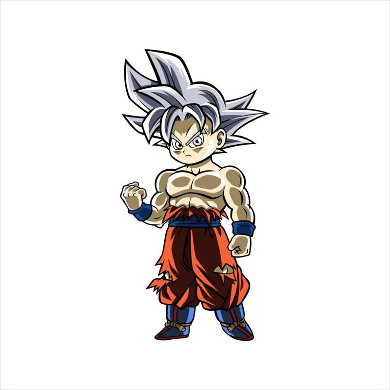 Chibi Goku Dragon Ball Z Cloud City 7
