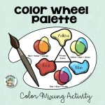 Color Wheel Palette Expressive Monkey