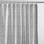 Painterly Stripe Shower Curtain Schoolhouse