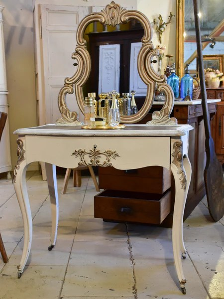 louis xv style vanity table or coiffeuse