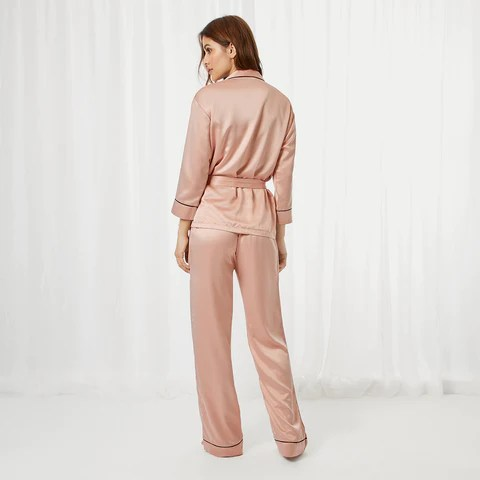 Wren Kimono and Trouser Set