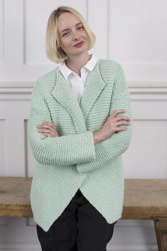 Lace Cardigan Knitting Pattern