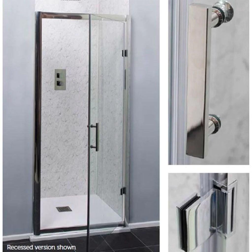 Cassellie Cass Six Shower Enclosure Hinged Door