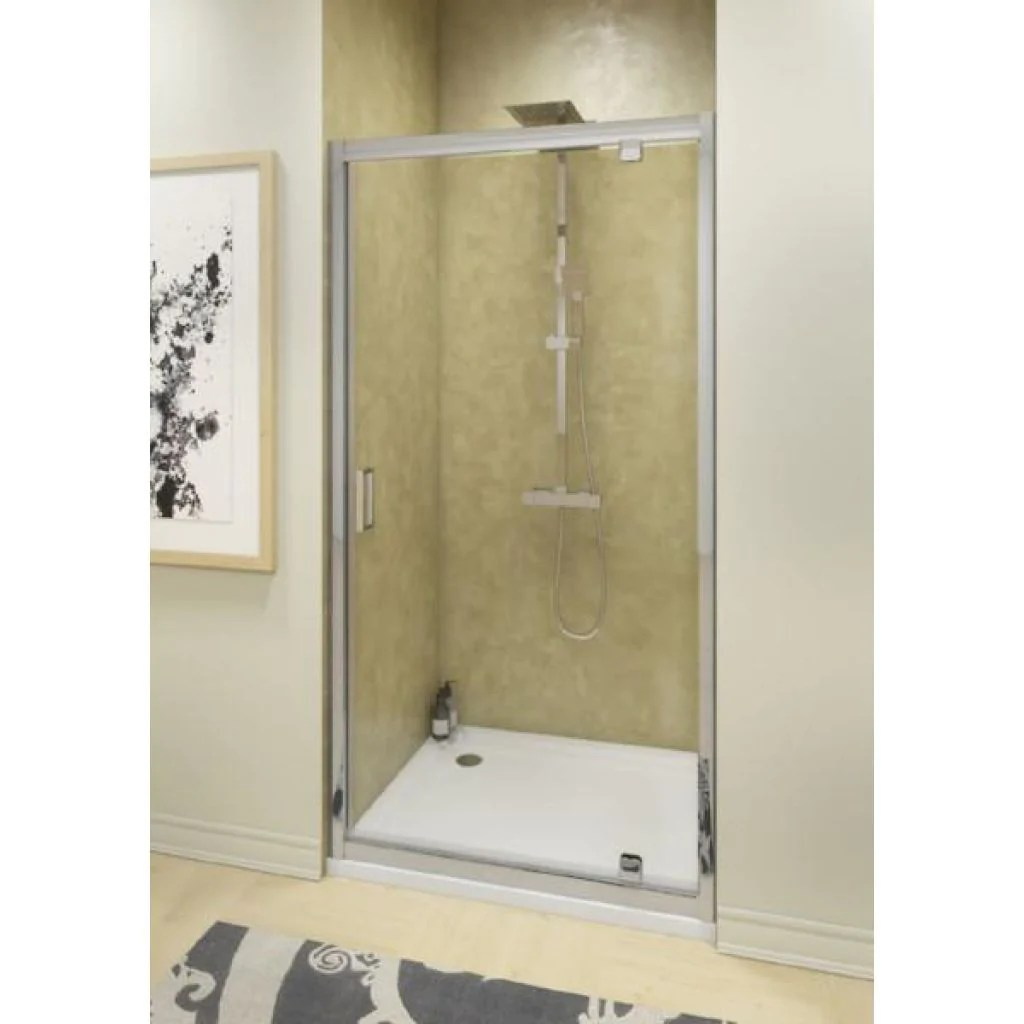 Cassellie Seis Pivot Shower Door Chrome