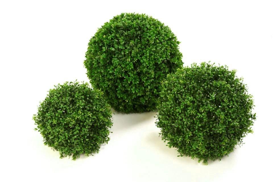 Large Artificial Boxwood Topiary Balls Premium Outdoor