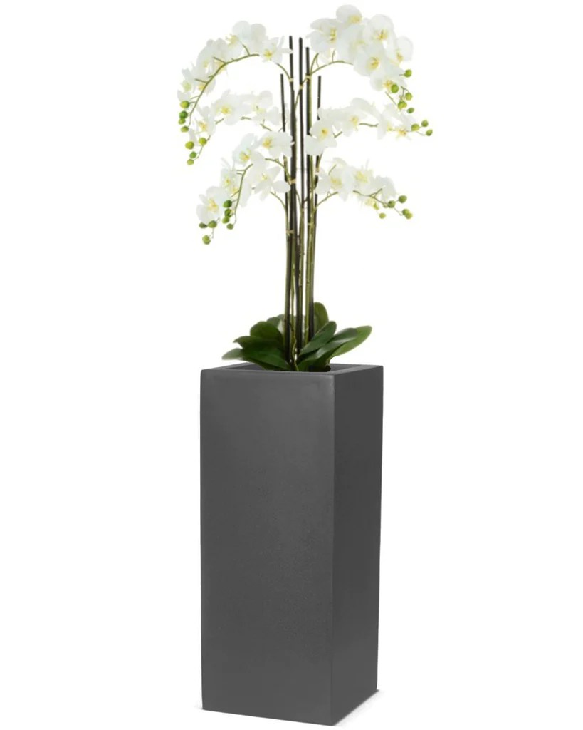 Tall Square Outdoor Planters