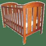 Vita Robust Wooden Baby Cot 4x2ft
