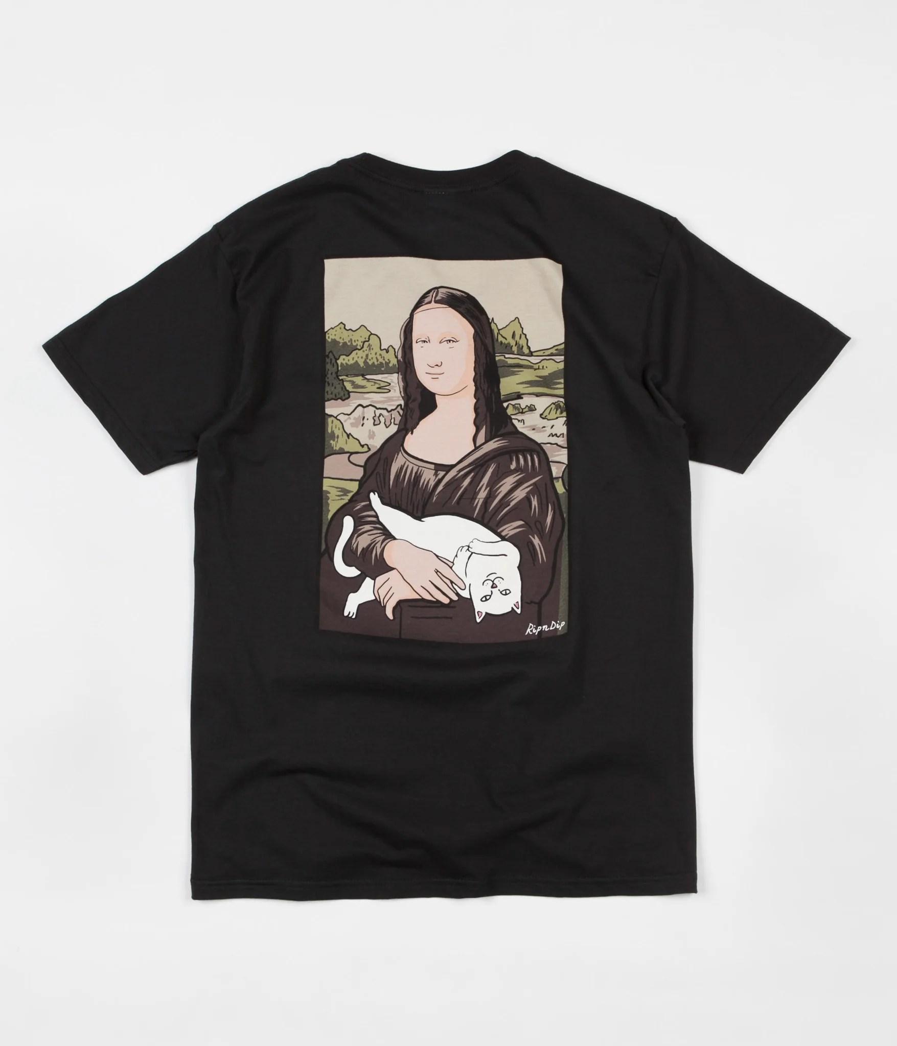 N Cat Rip Shirt Dip