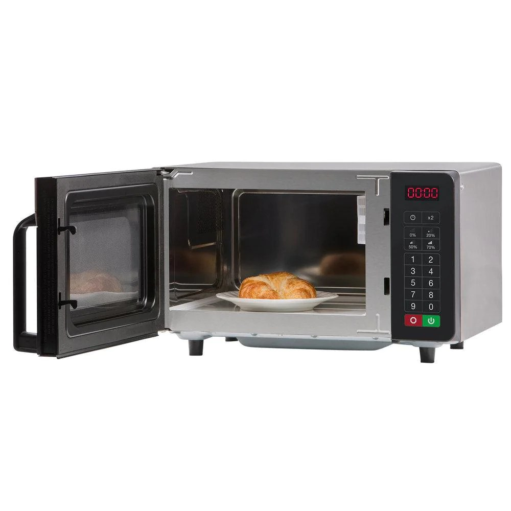 amana rms10ts commercial microwave oven with push button control