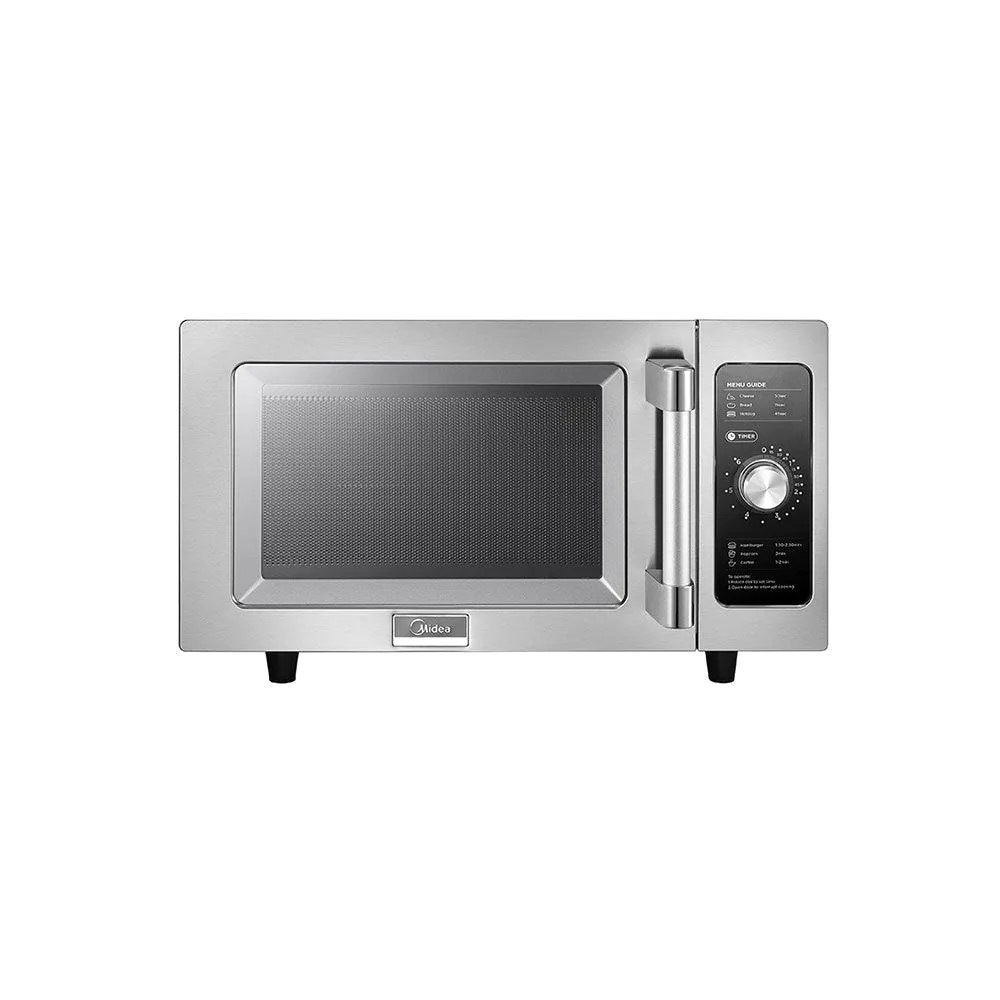 midea 1025f0a light duty commercial microwave oven with dial control 1000w