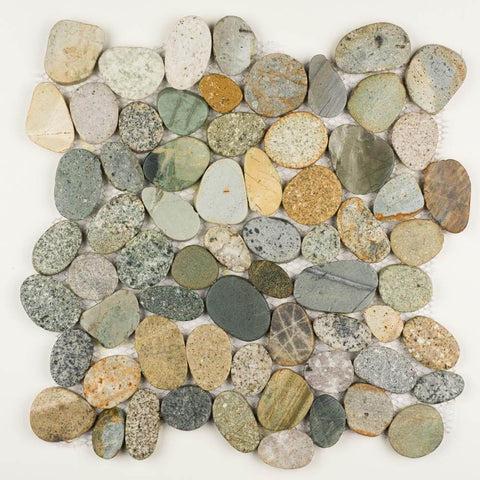 blue pebble tile buy blue stone