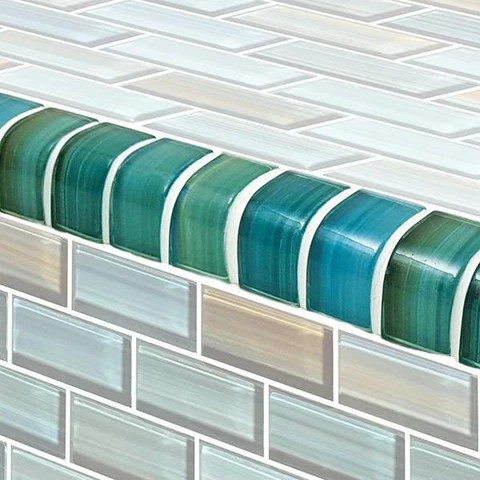 glass tile trim glass tile edge trim
