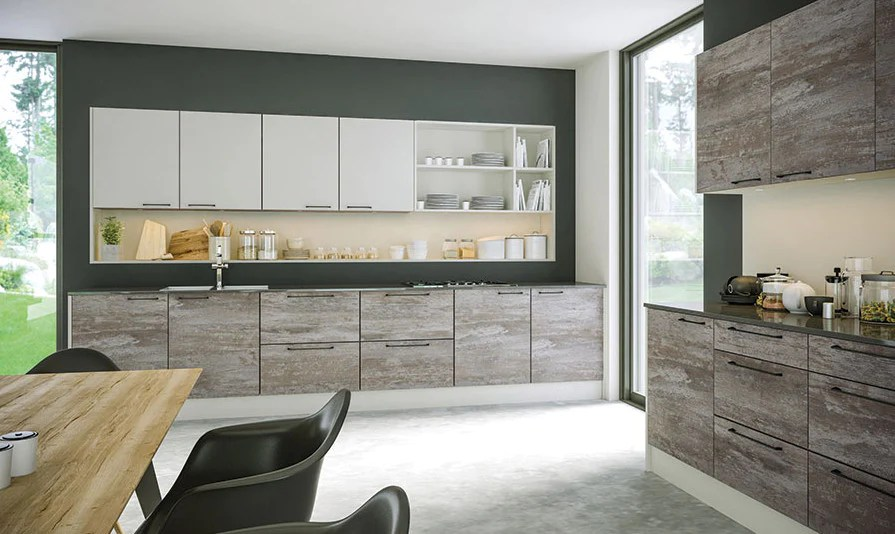 Driftwood Light Grey Acrylic Kitchen Doors Just Click Kitchens