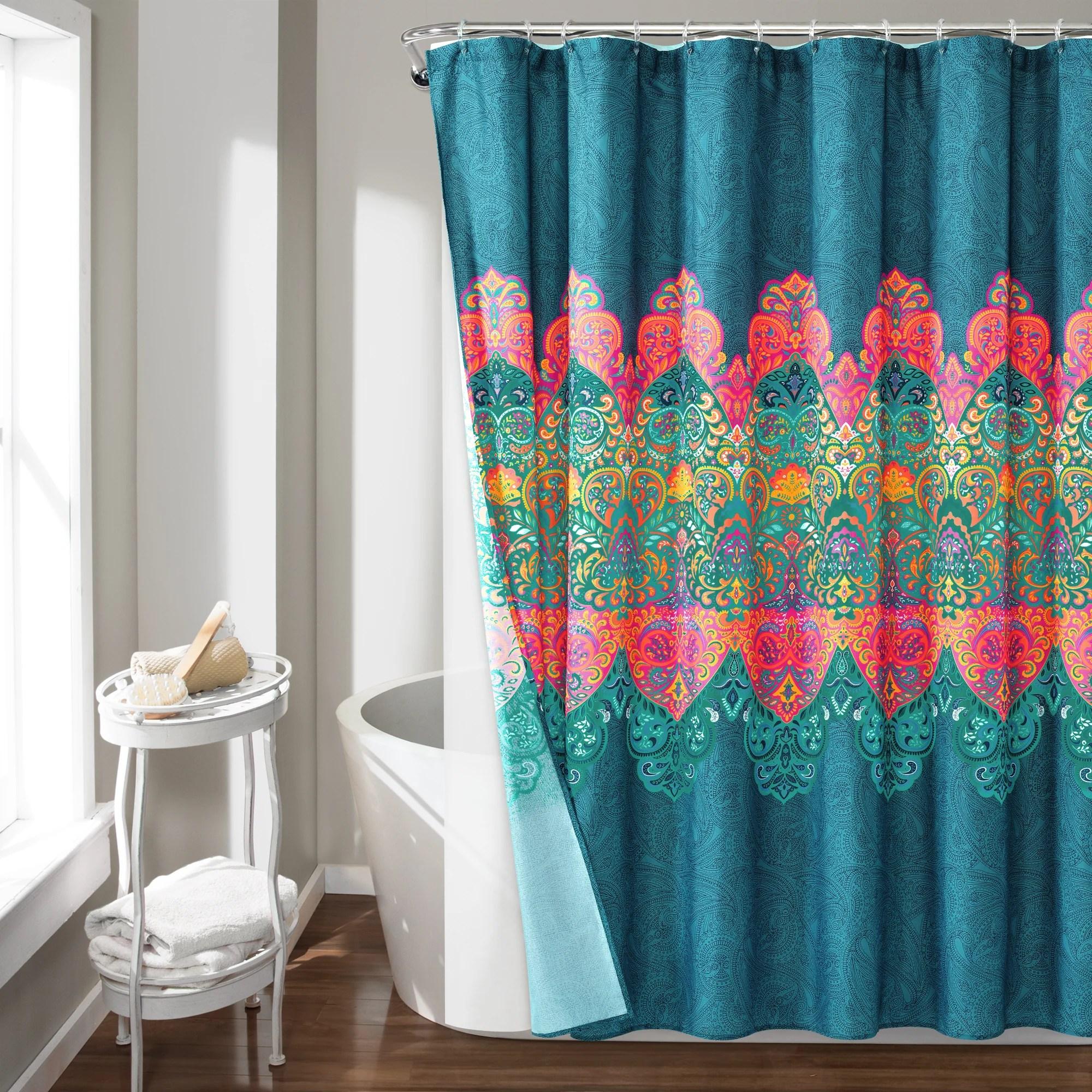 bath curtain set