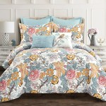 Sydney Comforter 7 Piece Set Lush Decor Www Lushdecor Com Lushdecor