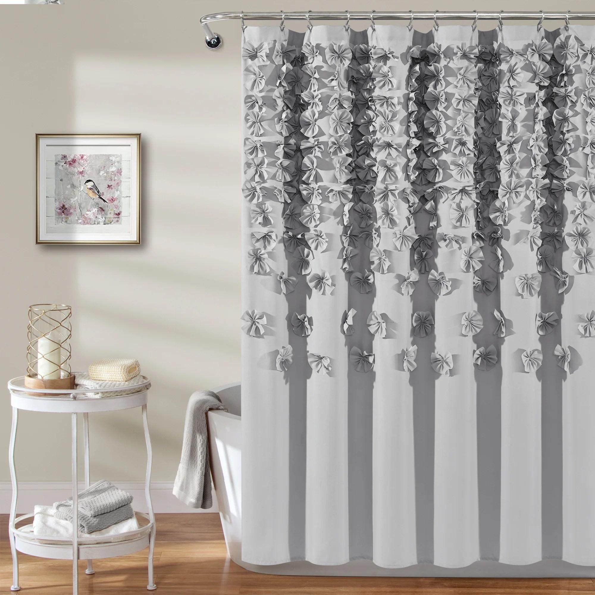 lucia shower curtain lush decor www