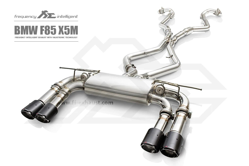 fi exhaust frequency intelligent exhaust system suits bmw x5m f85