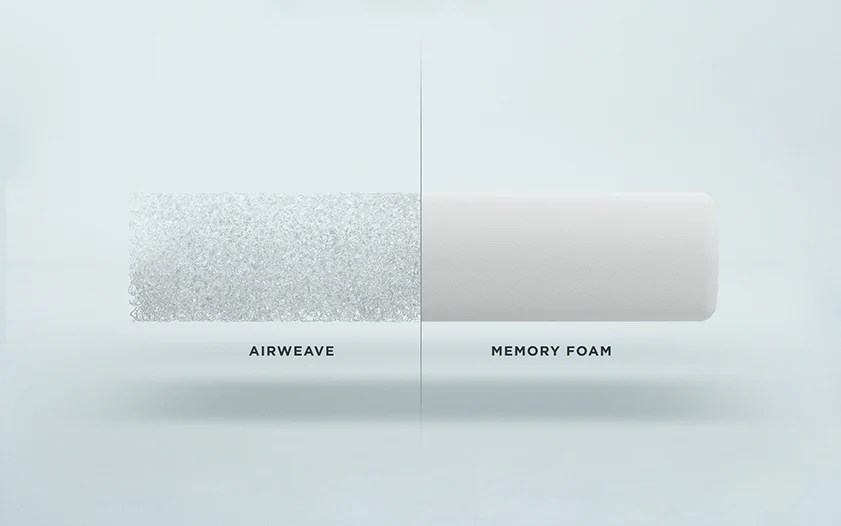 airweave pillow supportive cooling