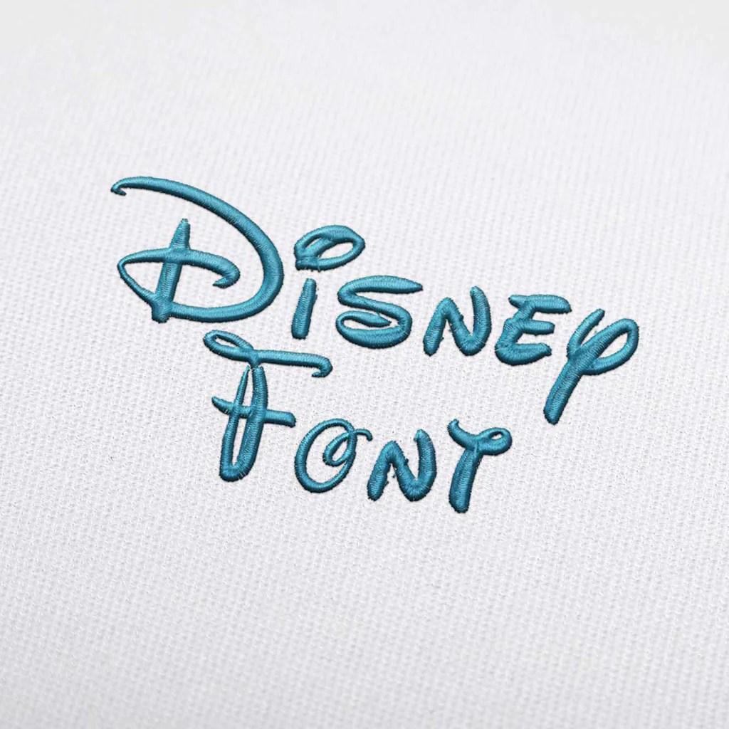 Download Disney Embroidery Font Set Download — EmbroideryDownload