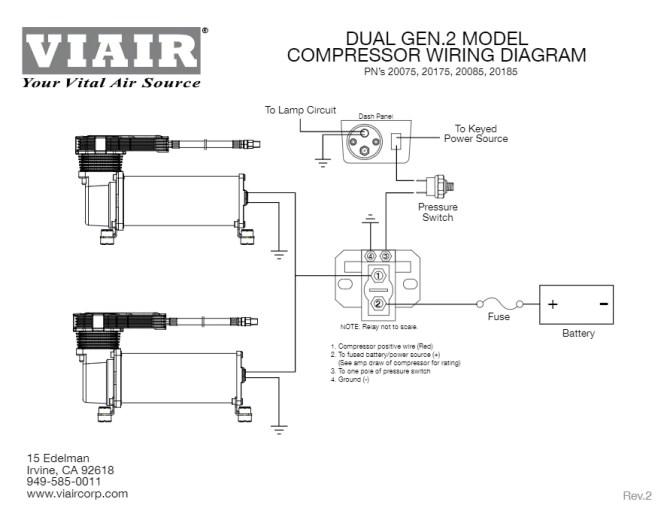 viair air horn wiring diagram  gm fuel level sensor wiring