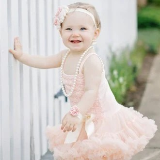 Baby Girl First Birthday Outfit Tutu Dress