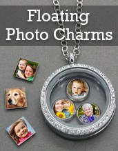 Photo Jewelry Floating Locket Charms