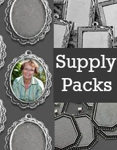Photo Jewelry Supplies Packs