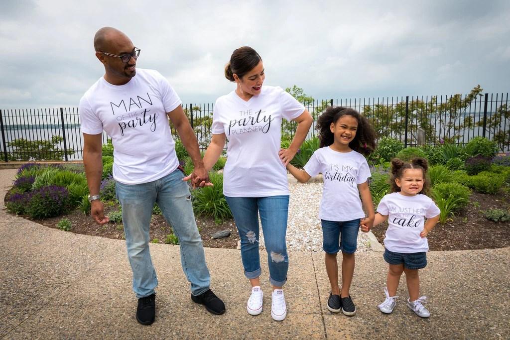 Matching Family Birthday Shirts Birthday Family Shirts Birthday Part Up2ournecksinfabric