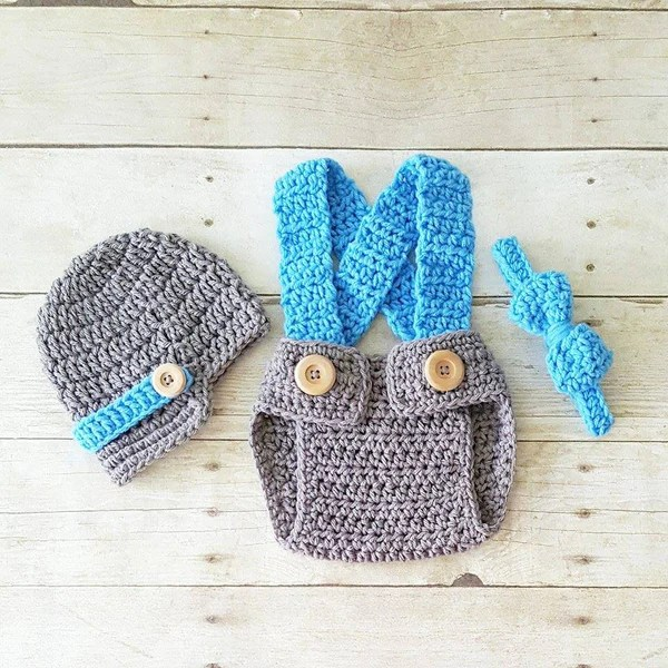 And Thanksgiving Crochet Diaper Hat Cover