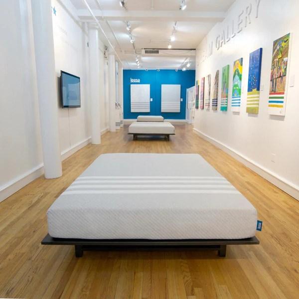 Leesa Dream Gallery pop-up shop | Shopify Retail blog