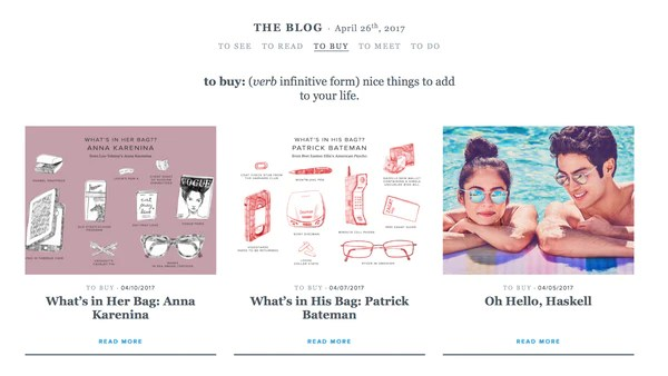 Warby Parker blog   Shopify Retail blog