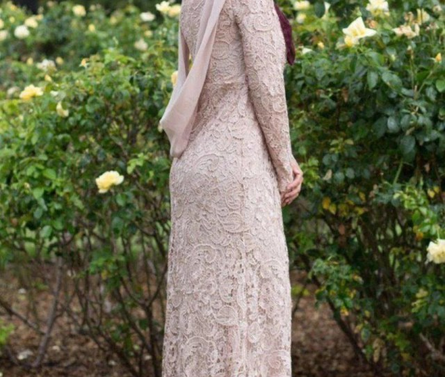 Noor Lace Long Sleeve Evening Gown Abaya Hijabs Jilbabs On Sale Now