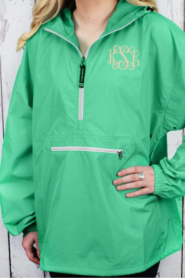 Charles River Lightweight Rain Pullover Mint 9904 Wholesale Accessory Market