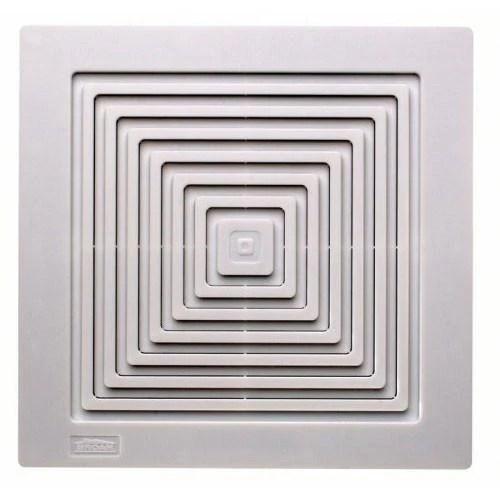 broan 671 white 70 cfm ceiling or wall mount bathroom ventilation exhaust fan