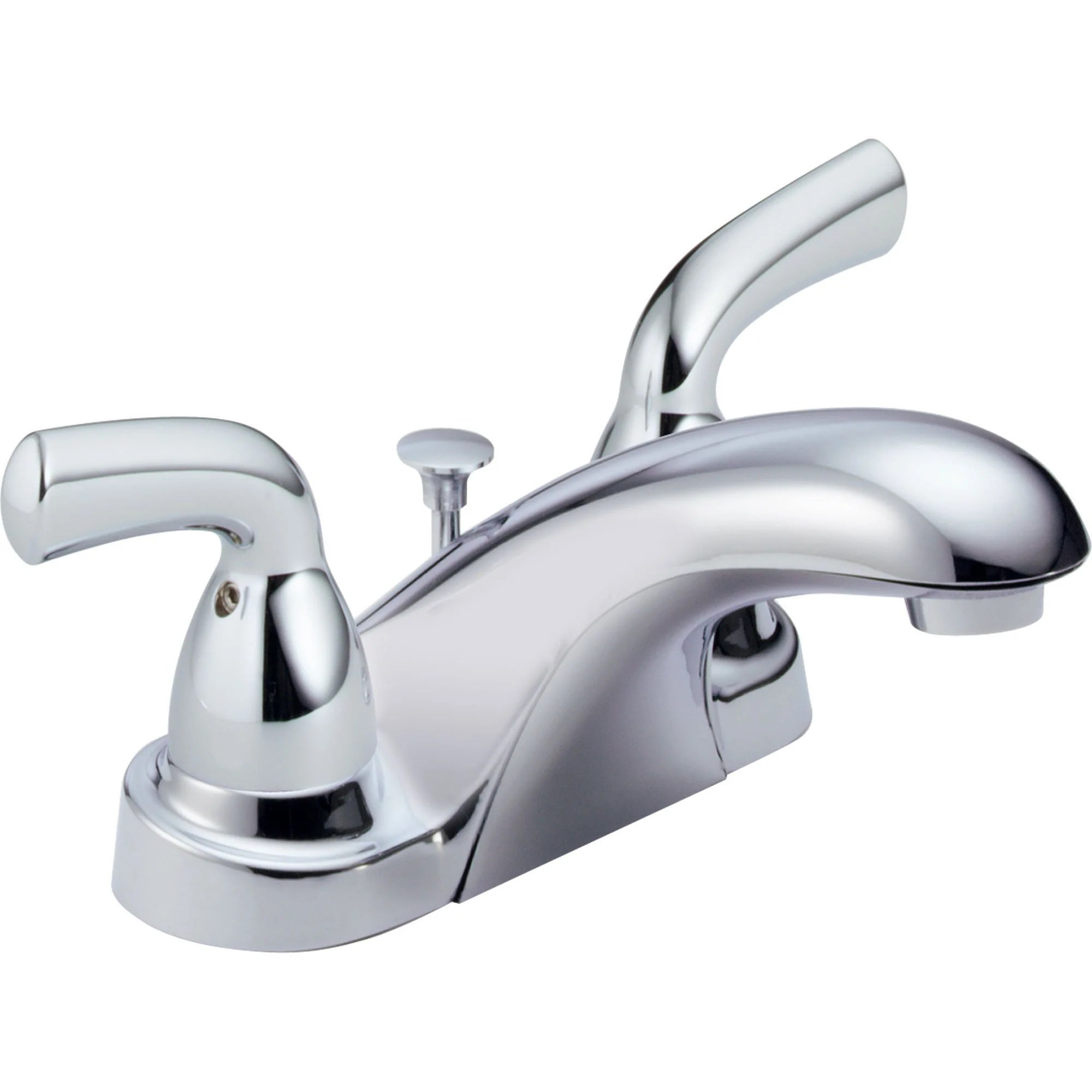 delta foundations 4 centerset 2 handle chrome bathroom sink faucet 550052