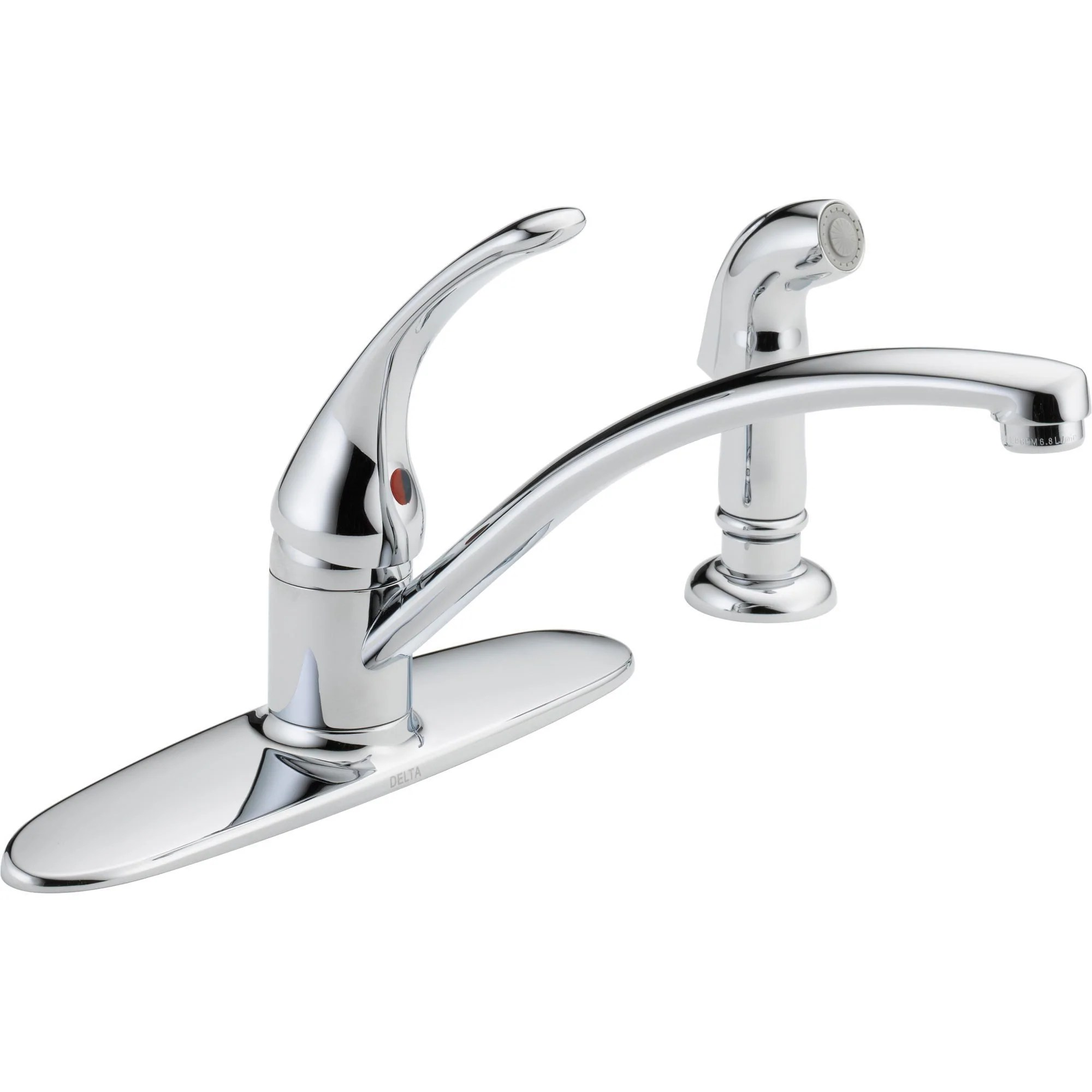 two hole kitchen sink faucet