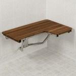 34 Wide Teak Ada Left Hand L Shaped Shower Bench Seat Teakworks4u