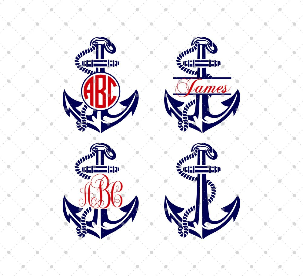 Download SVG Cut Files for Cricut and Silhouette - Anchor Files ...