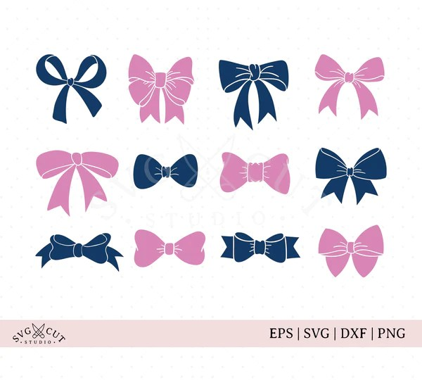 Download Bow SVG cut files - SVG Cut Studio