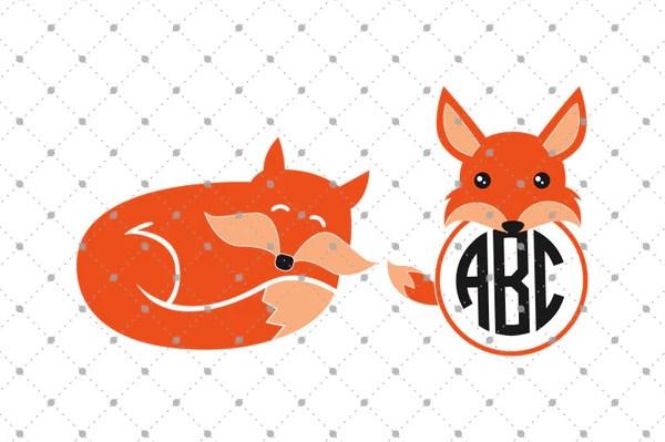 SVG Cut Files For Cricut And Silhouette Fox SVG Cut