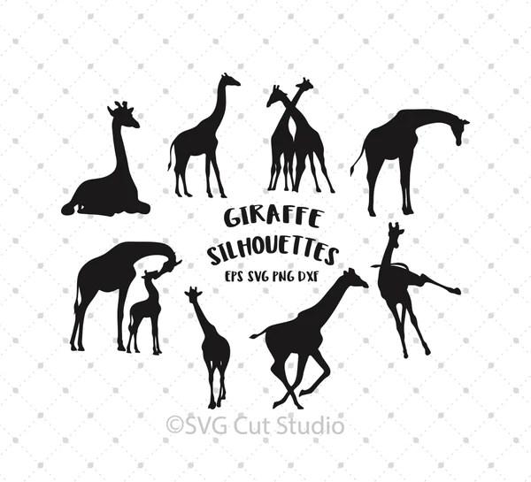 Download SVG Cut Files for Cricut and Silhouette - Giraffe ...