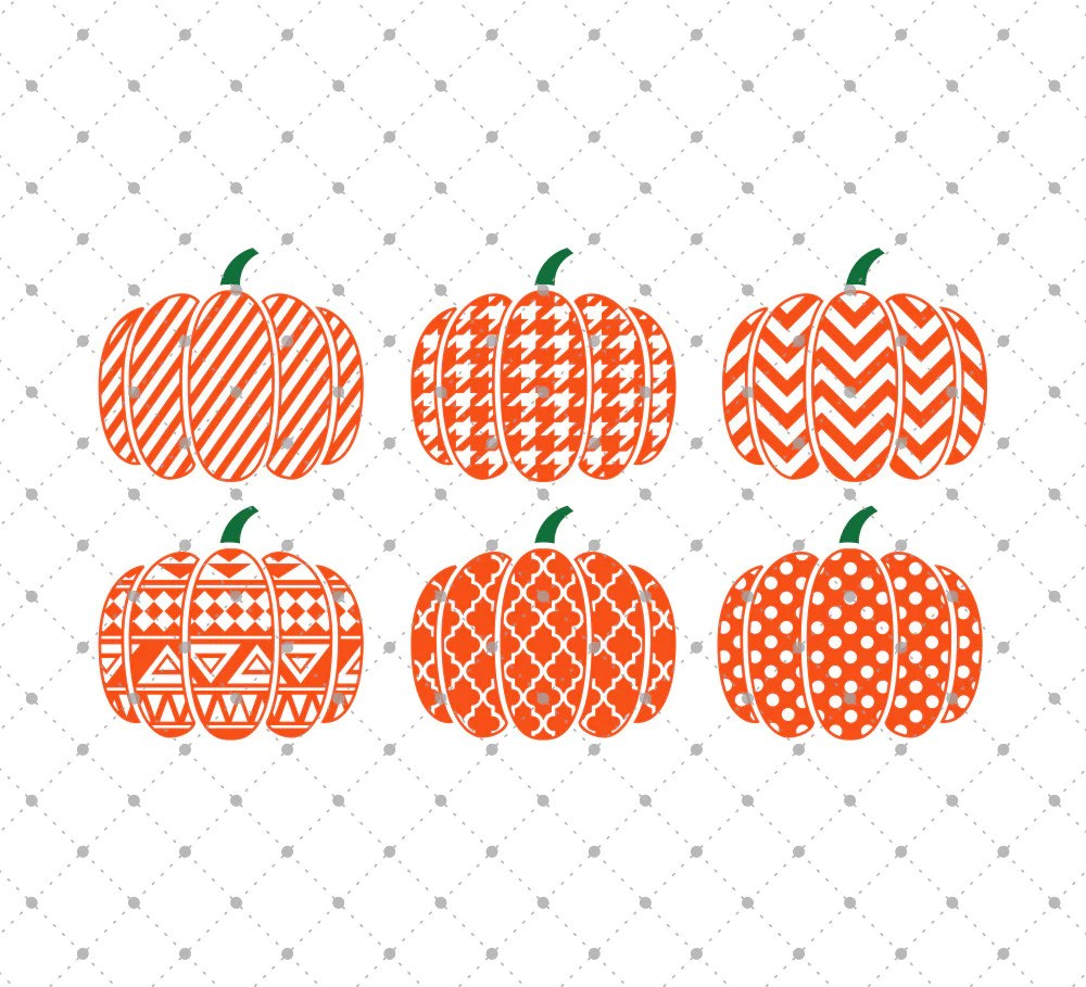 Download SVG Cut Files for Cricut and Silhouette - Patterned ...