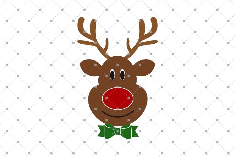 Download Rudolph Reindeer SVG Files - SVG Cut Studio