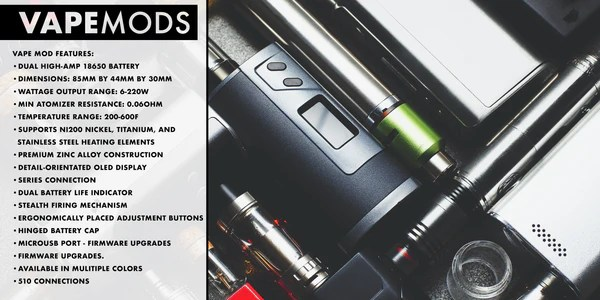 The Device You choose matters - Features of different sub-ohm devices